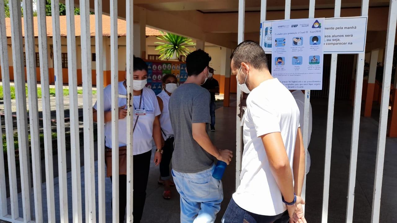 Enem 2020: mais da metade dos inscritos no Amapá faltou no 1º dia de provas