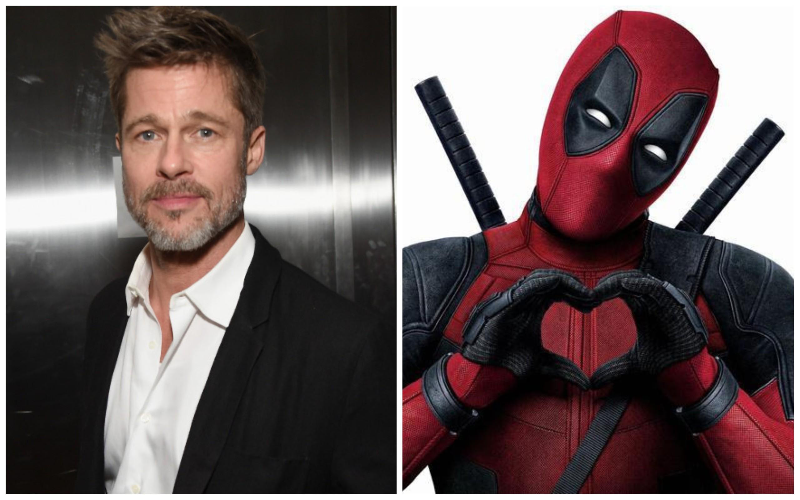 Brad Pitt / Deadpool (Foto: Getty Images / Divulgação)