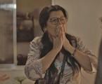 Regina Casé é Lurdes em 'Amor de mãe' | Reprodução
