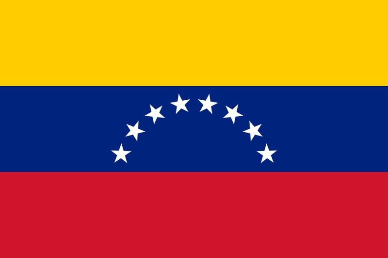 Bandeira da Venezuela (Foto: Public Domain/Antonio48PA/Wikimedia Commons)