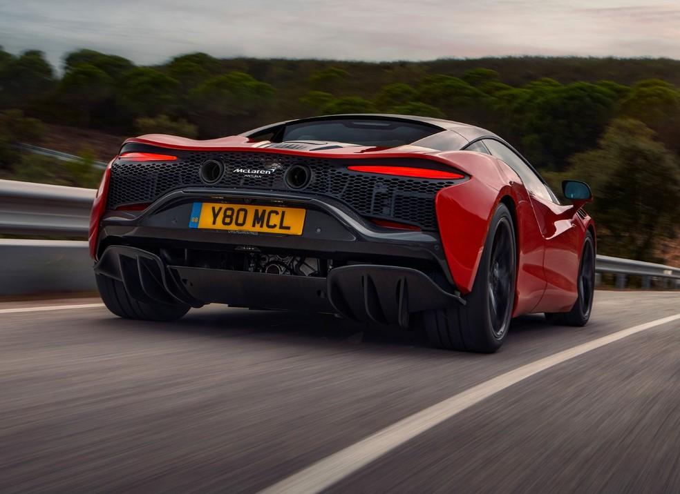 Estilo do Artura tem muito dos demais modelos da McLaren — Foto: Divulgação