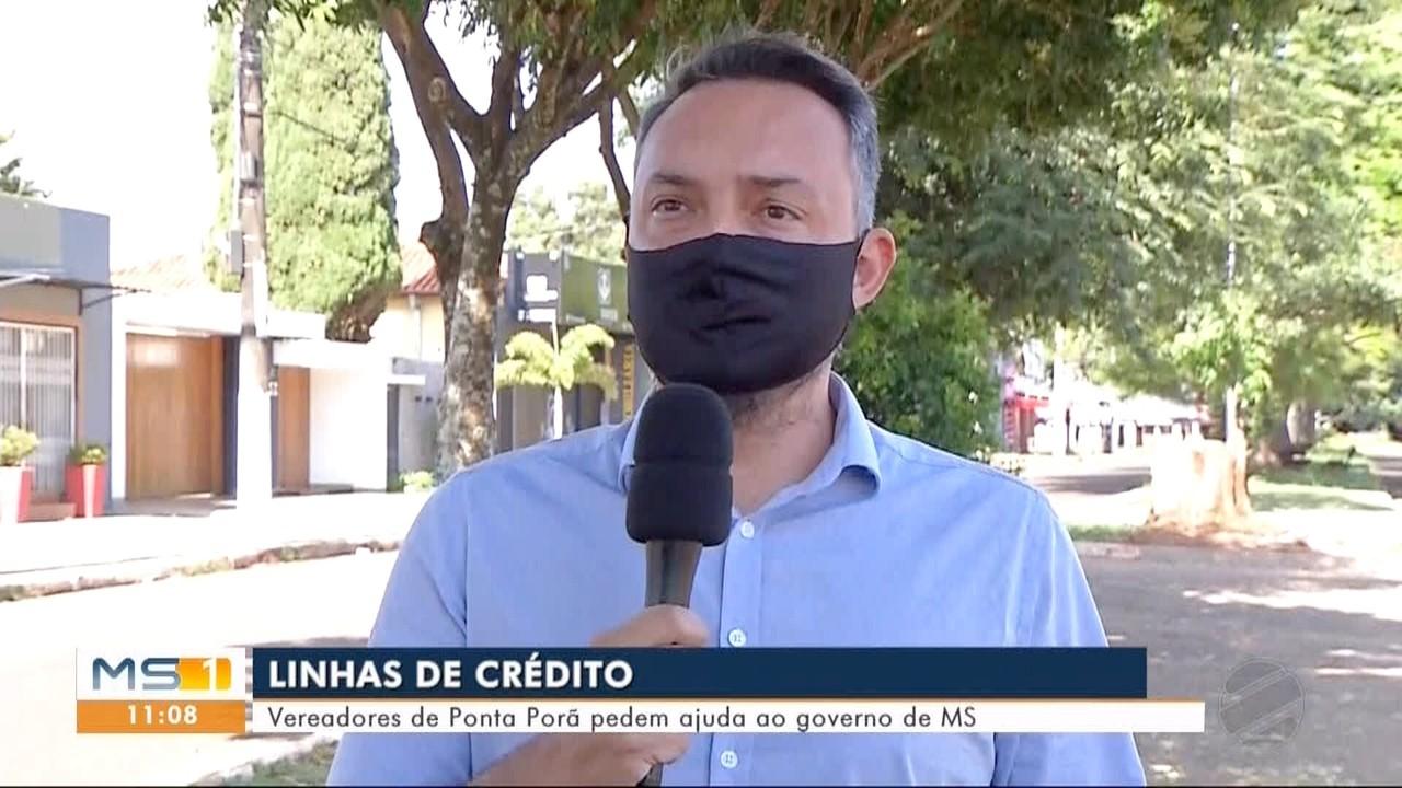 Vereadores de Ponta Porã pedem ajuda ao governo de MS