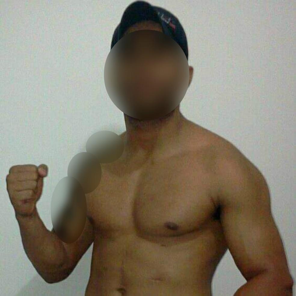 Suspeito de agredir idosa no dia do aniversário dela está foragido em MS, diz polícia — Foto: Rede social/Reprodução
