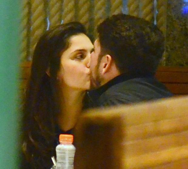 Jessika Alves e Ibraim Lopes (Foto: Webert Belicio/AgNews)