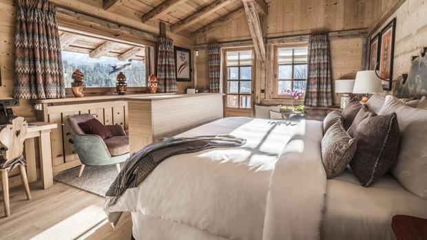 Após reforma de 10 milhões de euros, Four Seasons lança novo hotel nos Alpes franceses  (Foto: Divulgação)