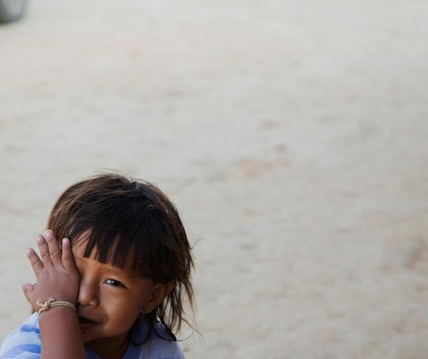 A mortalidade na infância entre os indígenas xavante é de 141 a cada mil nascidos vivos. O número é próximo dos mais pobres países africanos  (Foto: Lalo de Almeida)