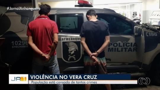 Moradores pedem mais segurança no setor Vera Cruz, em Goiânia