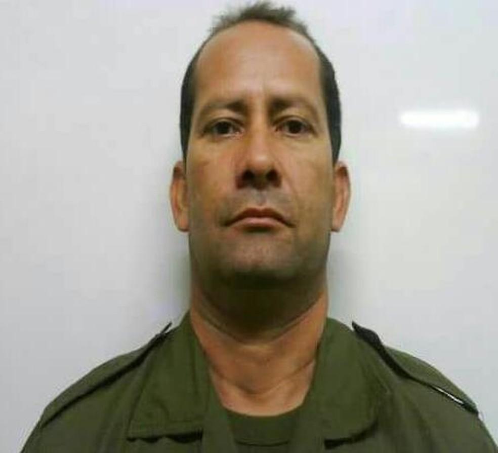 -  Morre o 2º sargento Antônio Daves Martins, de 49 anos, baleado no conjunto Cidade Nova 6, em Ananindeua  Foto: Polícia Civil
