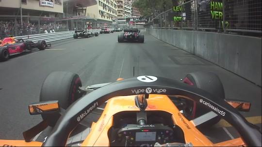 """Sainz exalta melhor resultado pela McLaren após 1ª volta incrível: """"Melhor manobra da carreira"""""""