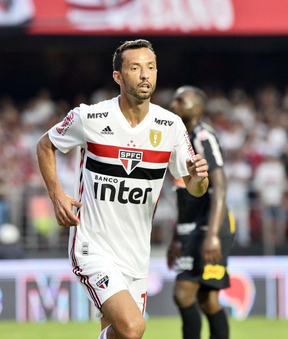 Meia ainda não fez gol na temporada — Foto: Marcos Ribolli