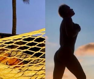 Xuxa Meneghel faz topless em viagem de férias a Aruba | Reprodução