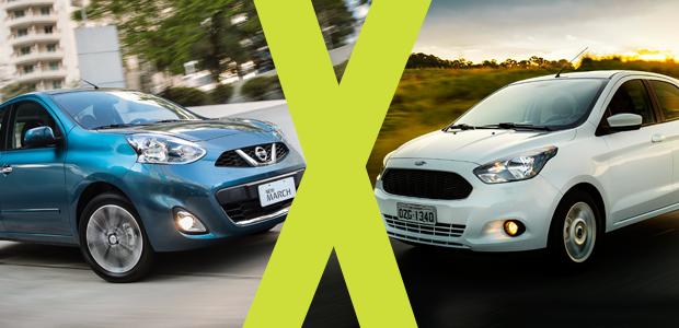 Recalls Honda Com >> Jogo Rápido: Ford Ka X Nissan New March - AUTO ESPORTE   Análises