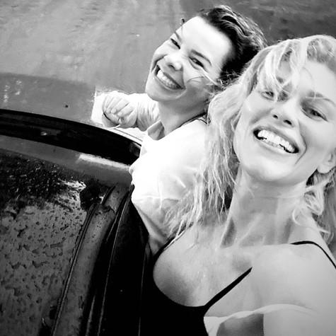 Fernanda Souza e Ludmila Dayer viajando juntas (Foto: Reprodução Instagram)