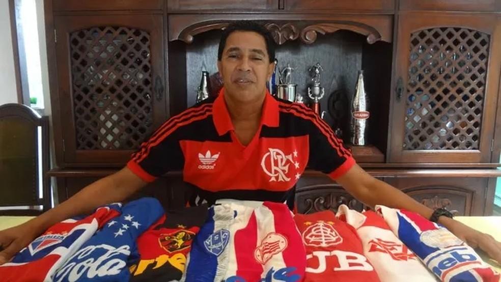 Heyder, ex-atacante de Flamengo, Internacional e Cruzeiro — Foto: Gustavo Pêna