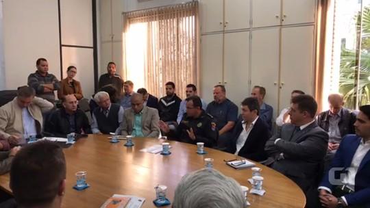 'Estou preferindo comer a pizza em casa', diz coronel da PM em reunião sobre segurança em Maringá