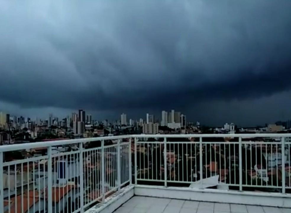 Funceme divulga nova previsão para o período chuvoso no Ceará — Foto: TV Verdes Mares/Reprodução
