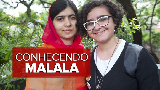 A brasileira selecionada para conhecer Malala Yousafzai