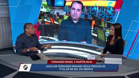 Martín Silva é mais decisivo, porém Fernando Miguel tem desempenho semelhante