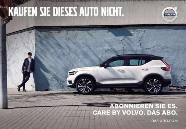 """Campanha da Volvo na Alemanha diz """"Não compre este carro"""" (Foto: Divulgação)"""