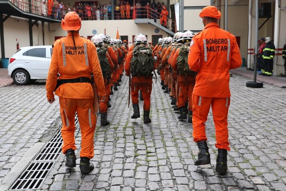 Concurso oferece 28 vagas para formação de bombeiros militares na Bahia  — Foto: Divulgação