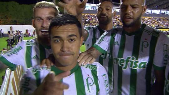 Os gols de Novorizontino 0 x 3 Palmeiras pelas quartas de final do Campeonato Paulista
