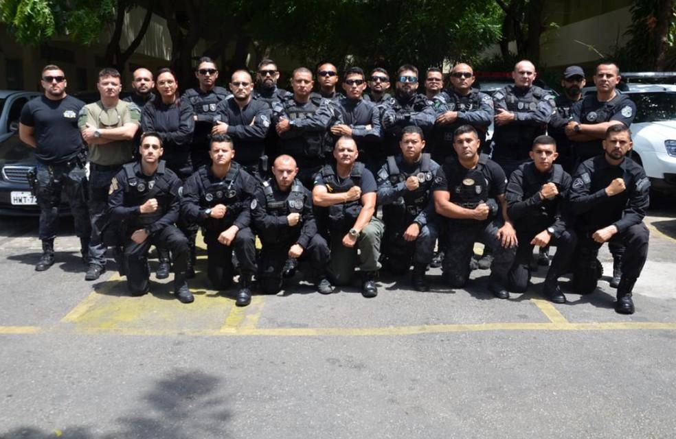 A solicitação foi feita pelo Departamento Penitenciário Nacional (Depen).  — Foto: Secretaria de Administração Penitenciária do Ceará (SAP)