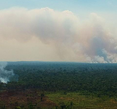 Cientistas descobrem como queimadas afetam formação de nuvens na Amazônia