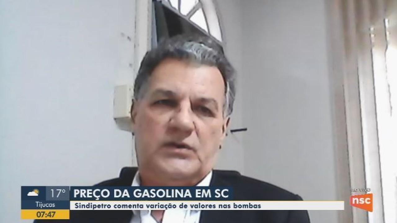 Sindipetro fala sobre preço da gasolina em SC