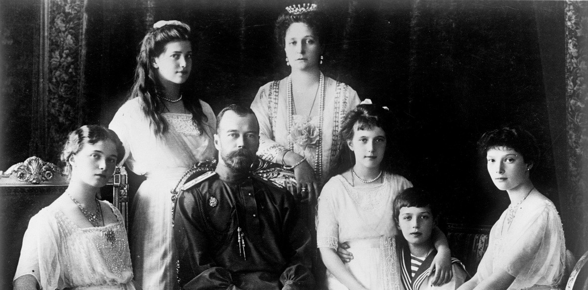 Foto da família Romanov (Foto: Wikimedia Commons)