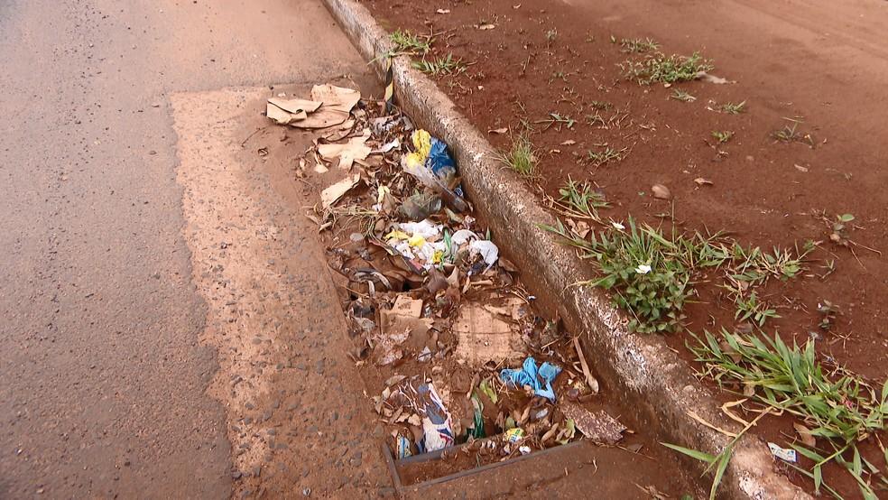 Lixo descartado irregularmente favorece aparecimento de ratos, por exemplo, que transmitem doenças  — Foto: Reprodução/TV Integração