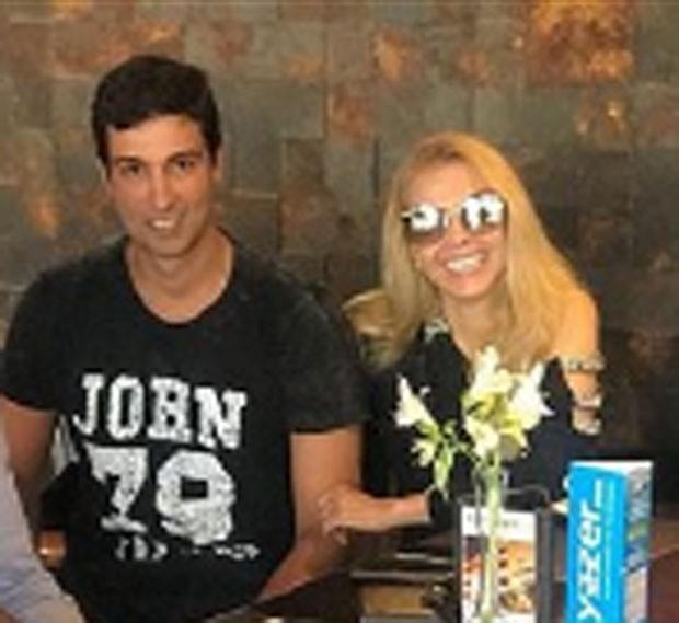 Alessandro Cavalcante e Joelma (Foto: Reprodução)