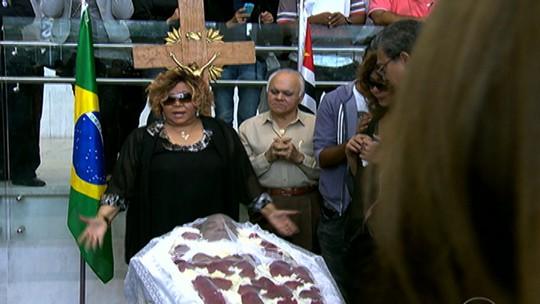 Corpo de Jair Rodrigues foi enterrado em São Paulo nesta sexta-feira (9)