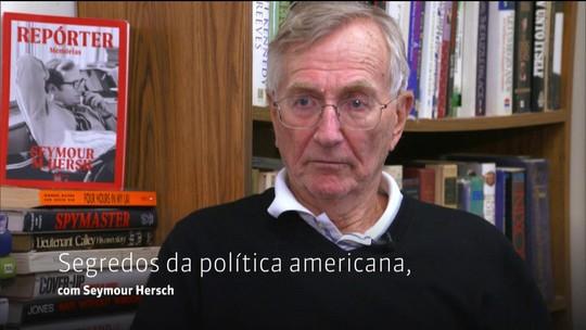 Milênio entrevista o jornalista Seymour Hersh sobre política americana