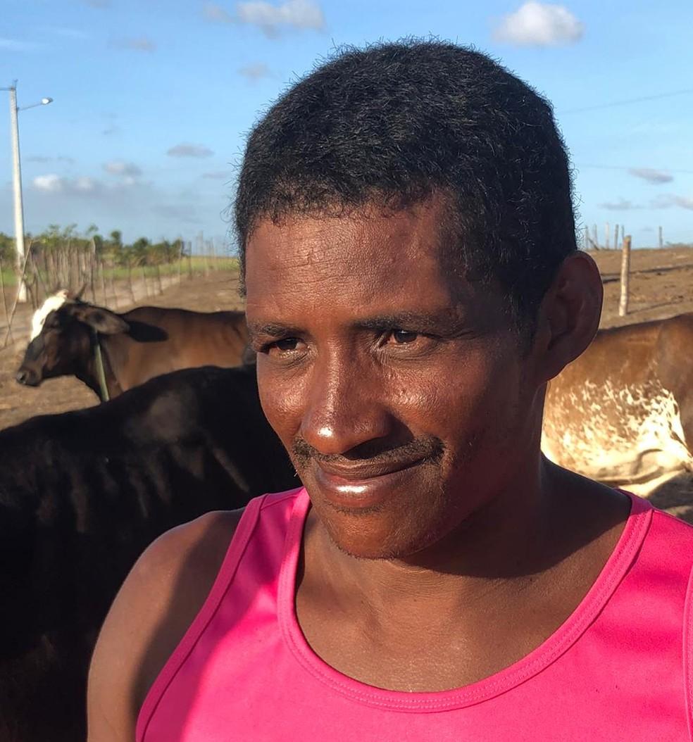 Eldis Trajano da Silva ficou preso dois anos e sete meses no lugar do irmão, no RN — Foto: Emmily Virgílio