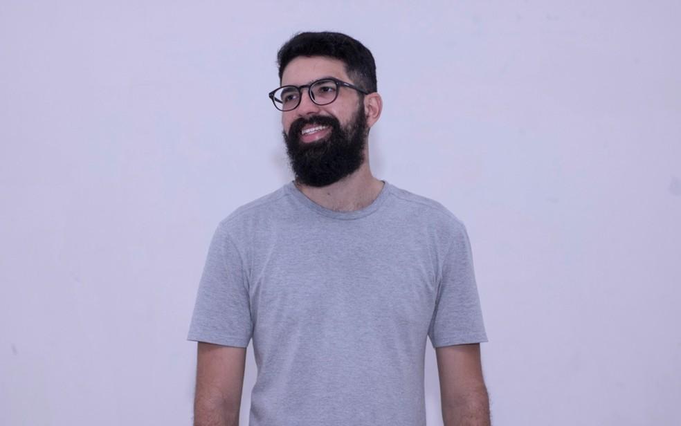 Filme 'Sentidos' foi feito pelo aluno da UFCG, Danilo Guimarães, para o curso de Arte e Mídia — Foto: Danilo Guimarães/Arquivo Pessoal