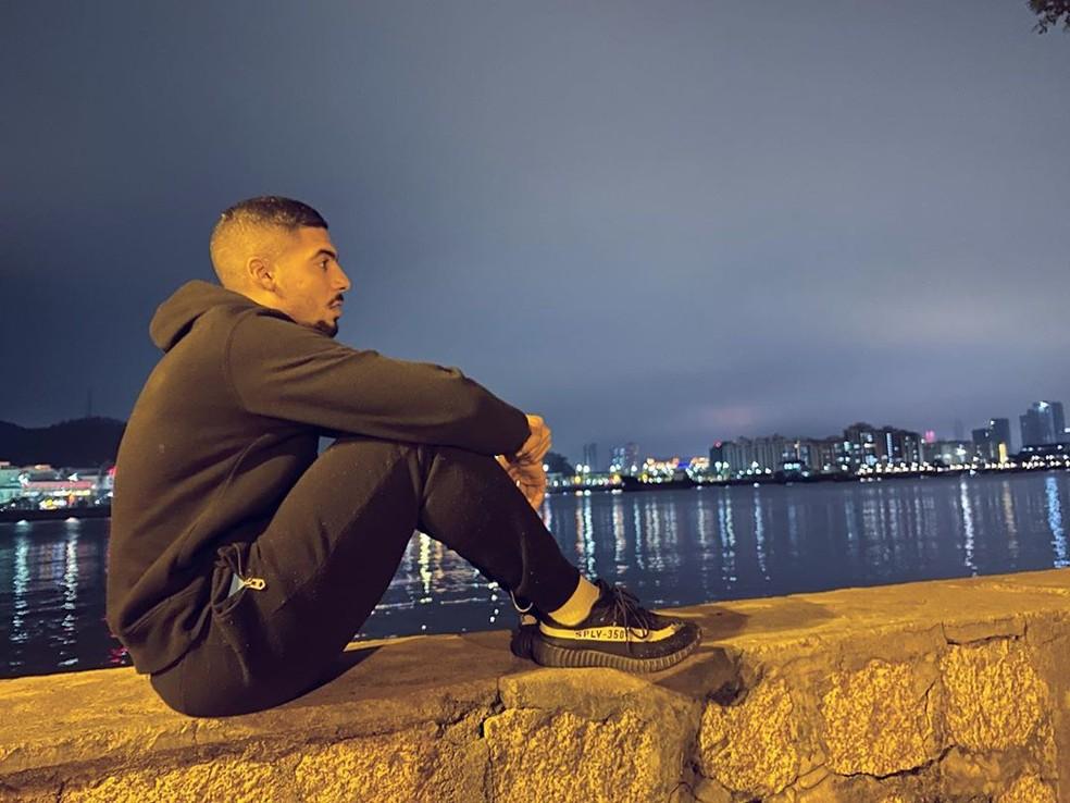 Bruninho Araújo, meia — Foto: Arquivo Pessoal