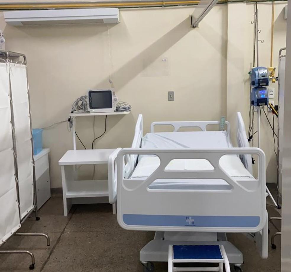 Novos leitos serão instalados em Mossoró, no RN — Foto: Divulgação/Sesap