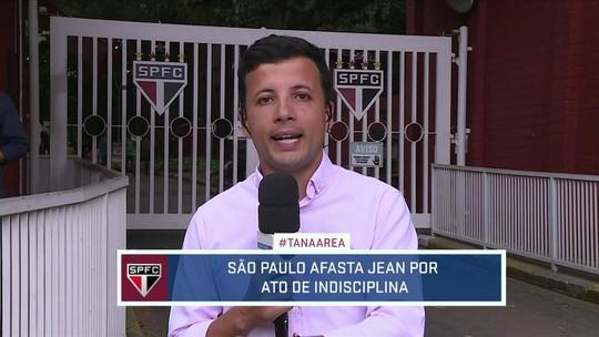 Diretoria do São Paulo multa e afasta Jean por ato de indisciplina; goleiro vai treinar separado