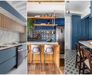 Armário de cozinha azul: 10 ideias para quem ama a cor