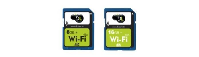 DL tem modelos de cartão SD Wi-Fi vendidos no Brasil (Foto: Divulgação) (Foto: DL tem modelos de cartão SD Wi-Fi vendidos no Brasil (Foto: Divulgação))