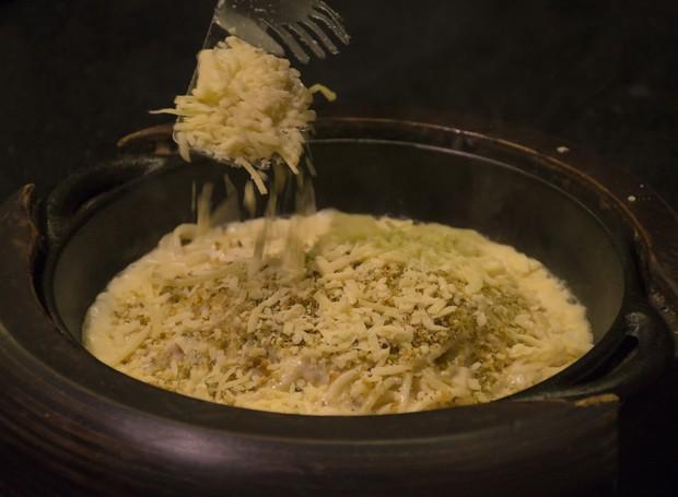 Receita de espaguete al formaggio  (Foto: Divulgação)