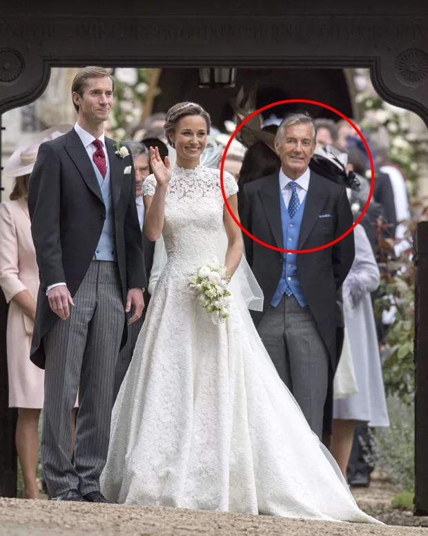 David Matthews no casamento de Pippa Middleton (Foto: Getty Imagens)