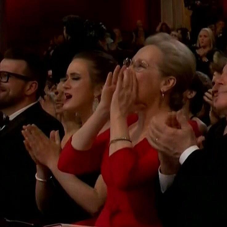 O meme de Meryl Streep ganhou update em no Oscar 2018 (Foto: Reprodução/Instagram)