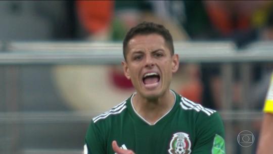 Precisando apenas empatar com a Suécia, México perde de 3 a 0