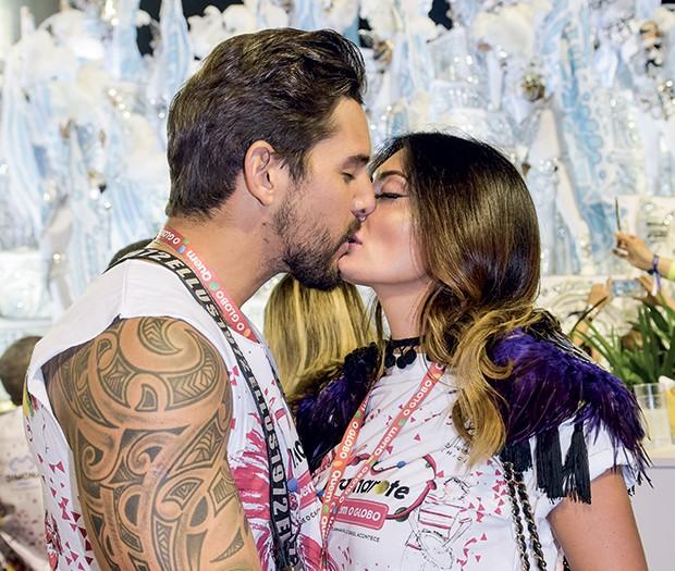 Felipe Pezzoni e Rossana Agnoletto (Foto: Selmy Yassuda/QUEM)