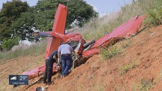Imagens de câmera no painel de avião devem ajudar perícia a apurar causa de queda em MG
