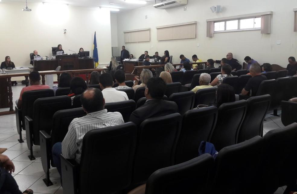 Julgamento dos envolvidos na morte do prefeito Chico Pernambuco teve início nesta segunda-feira, 5 (Foto: TJ-RO/Assessoria)
