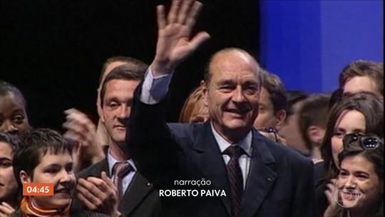 Franceses dão adeus ao ex-presidente Jacques Chirac