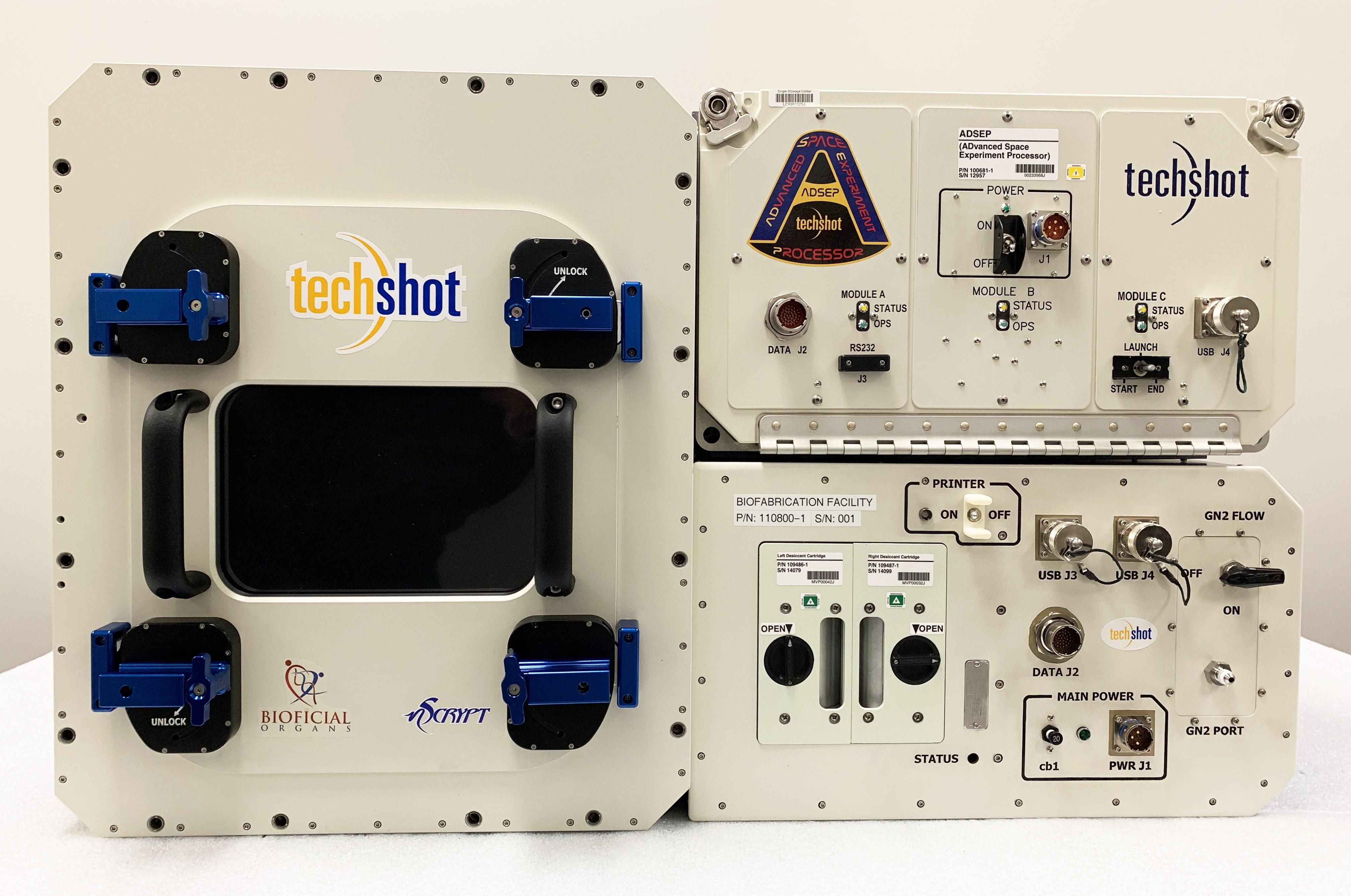 Protótipo da impressora para a impressão de órgãos (Foto: Divulgação)