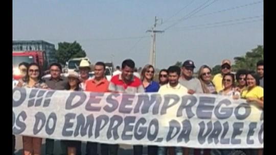 Associações comerciais e entidades de classe de Ourilândia do Norte protestam na PA-279